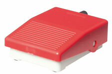 Mini Fußschalter grau/rot, Pedaltaster, Pedalschalter, NEU+OVP