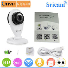Sricam HD Wireless IP Camera Wifi Security CCTV Indoor Monitor Baby/Pet
