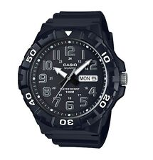 Casio Watch * MRW210H-1AV Diver Look XL 100WR Black COD PayPal Ivanandsophia
