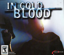 IN COLD BLOOD Stealth Action PC Game NEW  BOX Win95-XP