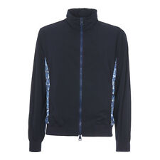 KITON K. Bomber Jacket 44Us 54Eu XL Dark Blue