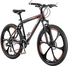 "BICICLETTA Mountain Bike 26"" GT MTB in alluminio, 21, Shimano DISC BRAKE Sparkle, Zoom avancorpo"