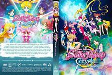 DVD Anime Sailor Moon Crystal Season 1+2 Episode 1 - 26 End English Version