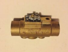 "NEW TACO 1"" - GEO-SENTRY GEOTHERMAL ZONE VALVE-brass,sweat connection,body"
