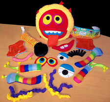 Smooshies Pack of Parts - Make Your Own Weird Doll - Creative Toy - 18 Pieces
