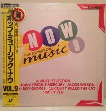 NOW That's What I Call Music 9 Laserdisc JAPAN LD  Rare Communards Housemartins