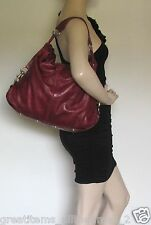 Rebecca Minkoff NIKKI  Hobo Thick Leather HOBO Bag - USED MSRP $495