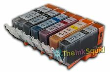 6 Compatible Canon Pixma PGI-525/CLI-526  Ink Cartridges (inc GREY)