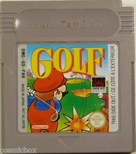GAME BOY jeu video MARIO GOLF testé cartouche console Nintendo color advance sp