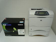 HP LASERJET 4250DN 4250DTN PRINTER +NEW MSE HP 42X Q5942X TONER & 6-MO WARRANTY!