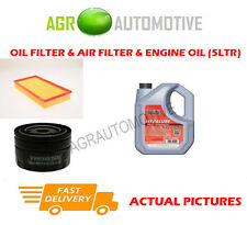 DIESEL OIL AIR FILTER KIT + FS 5W40 OIL FOR VOLVO V40 1.9 116 BHP 2000-04