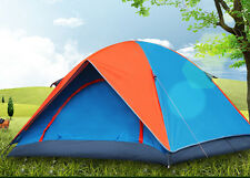 PICNIC CAMPING HIKING TENT WITH EXTRA RAIN COVER FOR 2 PERSON-DC