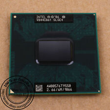 Intel Core 2 Duo T9550 - 2.66 GHz (BX80576T9550) SLGE4 CPU Processor 1066 MHz