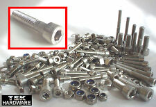 Stainless Allen Bolts (Socket Caps) M5, M6, M8 QUAD TRIKE GO KART KIT CAR BUGGY