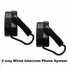 2 way Electronic Intercom 2 Pcs Door Phone for Office Home