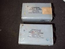 GENERAL ELECTRIC CAPACITORS 4MU-F 600VDC
