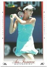 2008 ACE MATCHPOINT ANA IVANOVIC #7 BLUE PARALLEL