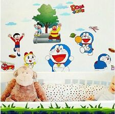 Asmi Collections Wall Stickers Wall Decals Doraemon and Nobita