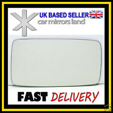 Left Passenger Wing Car Mirror Glass Replacement CONVEX  VW Golf 3 MK3 III