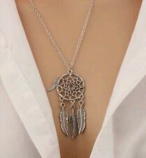 2016 New Hot Fashion Vintage Farther Dream Catcher Necklaces For Women Jewelry