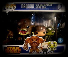 Star Wars - Rancor - Vinyl Figuren - Limited - Funko Pop! 3 Pack (Luke + Oola)