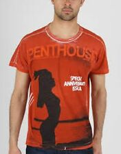 D&G DOLCE & GABBANA MEN'S  PENTHOUSE  RED T-SHIRT   BNWT 100% AUTHENTIC!