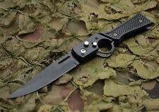 Messer Jagdmesser Taschenmesser Klappmesser Einhandmesser Klinge Schwarz