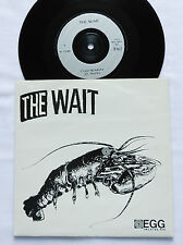 "The WAIT Cold monday FRENCH 7"" 45  EGG Records (1990) Garage/Noisy rock NMINT"