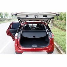 Black Rear Trunk Security Shield Cargo Cover For Nissan Rogue  x-trail