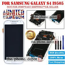 For Samsung Galaxy S4 i9505 LCD Display Digitizer Touch Screen White Replacement