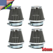 4pcs 50mm Air Filters Pod For Suzuki GS550 1980-1983 GS850GL 1983-1986 GS1150E