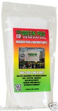 Green Pad CO2 Generator, Pack Of 5 Pads W/ 2 Hangers SAVE $$ W/ BAY HYDRO $$