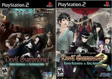 Shin Megami Tensei: Devil Summoner 1 & 2 Combo Pack [PlayStation 2 PS2, RPG] NEW