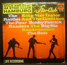 LP ROCK AND BEAT IM STARCLUB HAMBURG - life recording, Rattles, Bats, Big Six