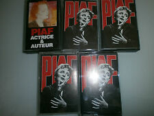 lot de K7 audio edith piaf