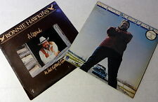 RONNIE HAWKINS Lot Of 2 LP's CANADA Import 70's 80's COUNTRY  WESTERN #9456