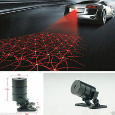 Auto Anti-Collision Rear Fog Driving Laser Web Design Caution Light Tail Warning