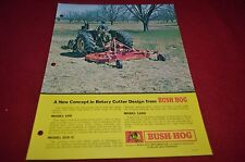 Bush Hog 109 1209 Rotary Cutter Dealer's Brochure YABE10