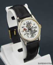 Vintage wind-up Tom & Jerry MGM Cartoon Character Watch