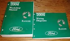 2004 Ford Ranger Truck Shop Service Manual + Wiring Diagram Set 04