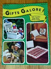 Gifts Galore Knit & Crochet Socks Hats Toys Golf Mitts Sport Pillows Blankets