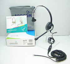 ADD800-04 Binaural Headset for Avaya 1608 1616 9620 9630 & Grandstream GXP-2140