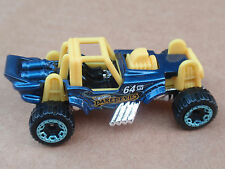 2016 Hot Wheels MOUNTAIN MAULER 163/250 Daredevils LOOSE Blue TREASURE HUNT