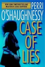 CASE OF LIES Perry O'Shaughnessy 1st Edition 2005 Mystery Hardcover & Jacket