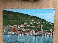 U1-3 postcard used 1967 bergen norway