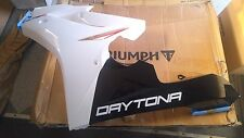 New Triumph T2301087-NW 2011 2012 Daytona 675 Left FAIRING CRYSTAL WHITE