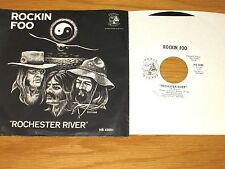 "60s ROCK 45 RPM w/PICTURE SLEEVE - ROCKIN FOO - HOBBIT 42001 - ""ROCHESTER RIVER"""