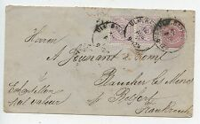 ENTIER POSTAL / FULL POST / GERMANY ALLEMAGNE / BELFORT / 1871