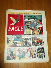 EAGLE #31 VOL 3 7TH NOVEMBER 1952 BRITISH WEEKLY DAN DARE SPACE ADVENTURES