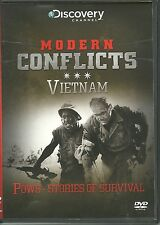 POWS (PRISONERS OF WAR) - STORIES OF SURVIVAL VIETNAM DVD - MODERN CONFLICTS